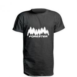Удлиненная футболка Subaru Forester
