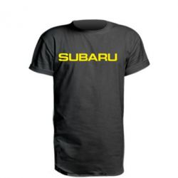 Подовжена футболка Subaru
