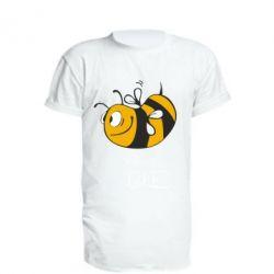 Удлиненная футболка Сумасшедшая пчелка