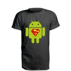 Подовжена футболка Super Android