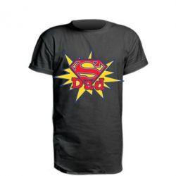 Удлиненная футболка Super Dad