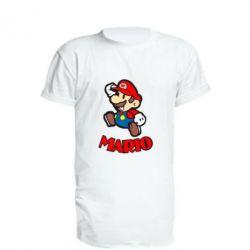 Удлиненная футболка Супер Марио - FatLine