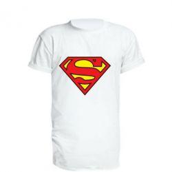 Удлиненная футболка Superman Symbol