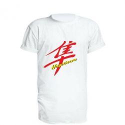 Удлиненная футболка Suzuki Hayabusa