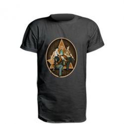 Удлиненная футболка Сверхъестественное Арт