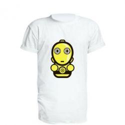 Подовжена футболка Sweet C-3PO
