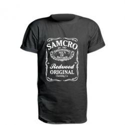 Подовжена футболка Сини Анархії Samcro
