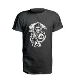 Удлиненная футболка Сыны Анархии