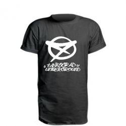 Удлиненная футболка Tankograd Underground Logo