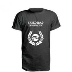 Подовжена футболка Tankograd Underground
