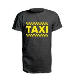 Удлиненная футболка TAXI