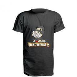 Удлиненная футболка Team Fortress 2 Art