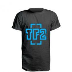 Удлиненная футболка Team Fortress 2 logo