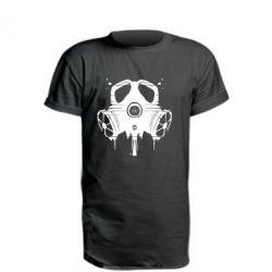 Удлиненная футболка The Chemodan Clan противогаз