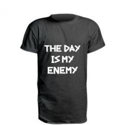 Удлиненная футболка The day is my enemy