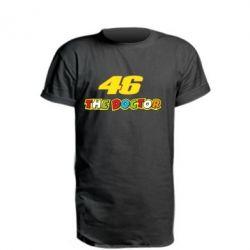 Подовжена футболка The Doctor Rossi 46