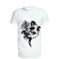 Купить Удлиненная футболка The ghost outside the machine, FatLine