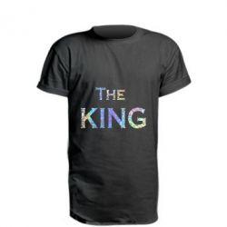 Удлиненная футболка The King