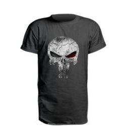 Удлиненная футболка The Punisher Logo