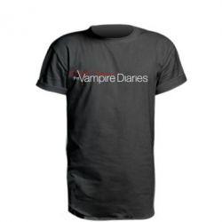 Подовжена футболка The Vampire Diaries Small