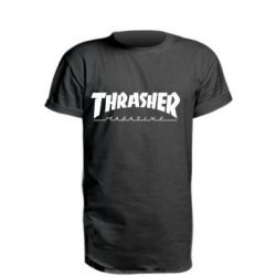 Подовжена футболка Thrasher Magazine