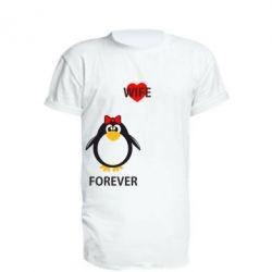 Подовжена футболка Together forever
