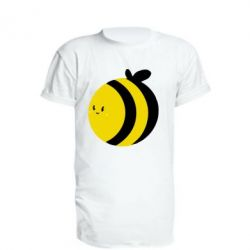 Подовжена футболка товста бджілка