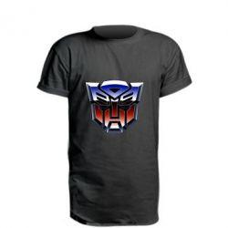 Подовжена футболка Трансформери Лого 1