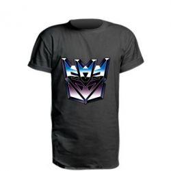 Удлиненная футболка Трансформеры Лого 2