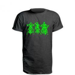 Подовжена футболка Три богатиря
