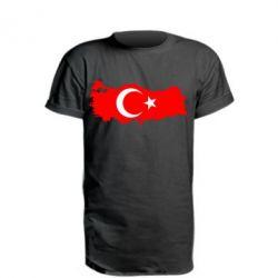 Удлиненная футболка Turkey