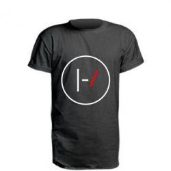 Удлиненная футболка Twenty One Pilots Logotype