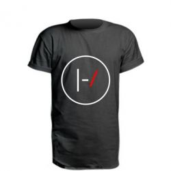 Подовжена футболка Twenty One Pilots Logotype