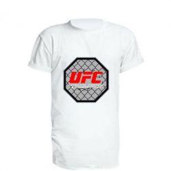 Удлиненная футболка UFC Cage