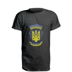 Подовжена футболка вільна Україна навіки