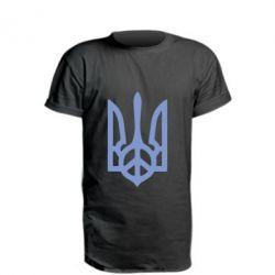Удлиненная футболка Ukraine Peace