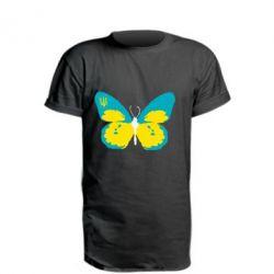 Удлиненная футболка Український метелик