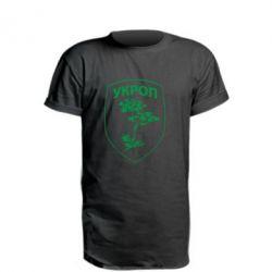 Удлиненная футболка Укроп Light
