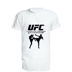 Удлиненная футболка Ultimate Fighting Championship, FatLine  - купить со скидкой