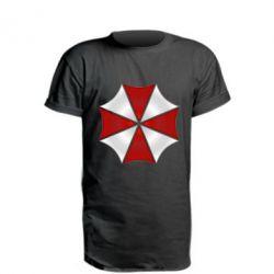 Купить Удлиненная футболка Umbrella Corp Logo, FatLine