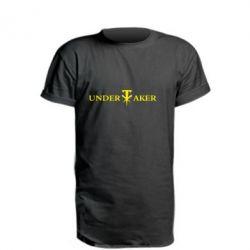 Подовжена футболка трунар
