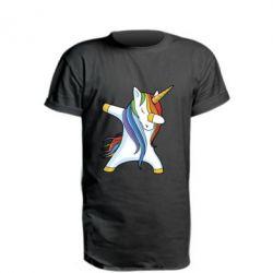 Купить Удлиненная футболка Unicorn dabbing, FatLine
