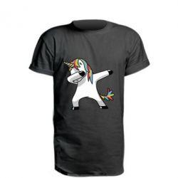 Удлиненная футболка Unicorn SWAG