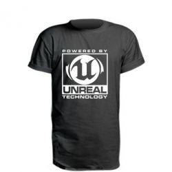 Удлиненная футболка Unreal