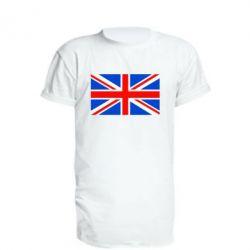 Удлиненная футболка Великобритания