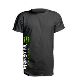 Подовжена футболка Вертикальний Monster Energy