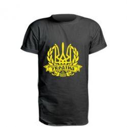 Подовжена футболка Вінок з гербом