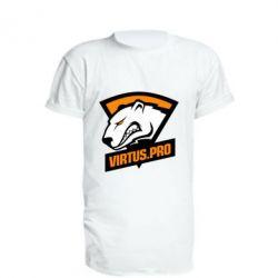 Подовжена футболка Virtus logo