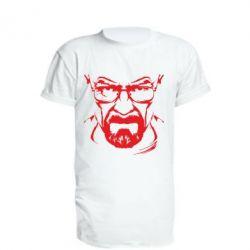 Удлиненная футболка Во все тяжкие (Уолтер) - FatLine