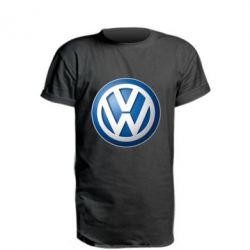 Подовжена футболка Volkswagen 3D Logo